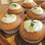 Lemon & Thyme Drizzle Cake