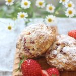 Strawberry Cream Scone